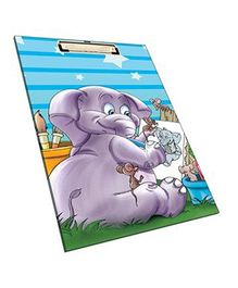 Sterling Clip and Drawing Board Executive - Elephant Print