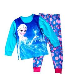 Adores Doll Printed Night Suit - Blue