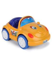 Luvely Push N Go Toy Car - Orange Blue