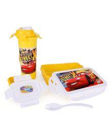 Disney Pixar Cars Lunch Box Set - Yellow
