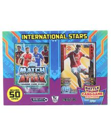Topps International Stars Battle Card Game - 50 Cards