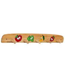 Little Genius - Wooden Hanger Fruits