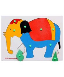 Little Genius - Wooden Elephant Puzzle