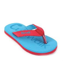Cute Walk by Babyhug Flip Flops - Blue