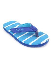 Cute Walk by Babyhug Flip Flops - Light Blue