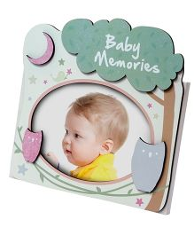 Gifthing Zoo 4R Wooden Photo Frame - Green