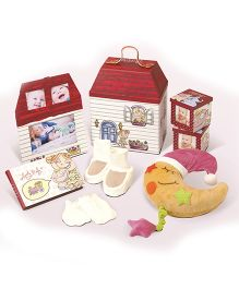 Gifthing Toy House Small Hamper - Multicolor