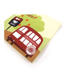 Gifthing Family Bus Musical Memory Book - Multicolor
