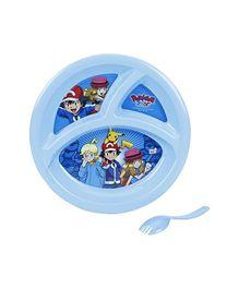 Pokemon Partition Plate - Blue