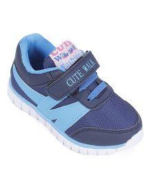 Cute Walk by Babyhug Casual Shoes Velcro Closure - Blue