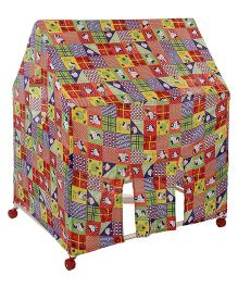Lovely Play Tent House Kitty Print