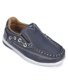 Cute Walk Party Wear Shoes - Navy Blue