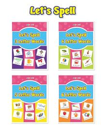 Lets Spell 4 Book Combo Set - English