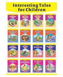 Interesting Tales For Children Set Of 16 Books - English