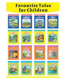 Favorite Tales For Children Set Of 16 Books - English