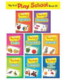 Play School Series Set Of 8 Books - English