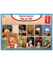 Know About Indian Leaders Set 3 Pack Of 10 - English