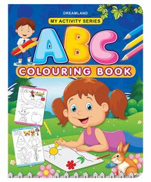 My Activity ABC Coloring Book - English