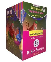 Moral Readers Bible 15 Stories Display Box - English