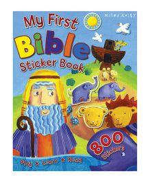 My First Bible Sticker Book - English