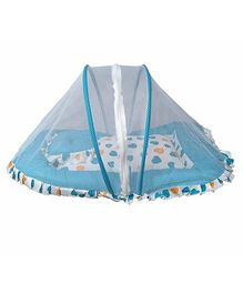 Luk Luck Port Baby Mosquito Net Bed Set - Sea Blue