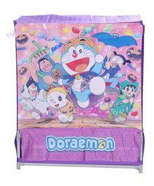 Doraemon Laundry Bag Cum Toy Tub - Dark Pink