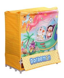 Doraemon Laundry Bag Cum Toy Tub - Yellow