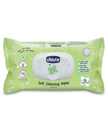 Chicco Baby Moments Soft Cleansing Wipes 72 Wipes