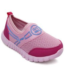Cute Walk by Babyhug Casual Shoes Slip On Style - Pink