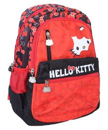 Hello Kitty School Bag Red - 15 inches