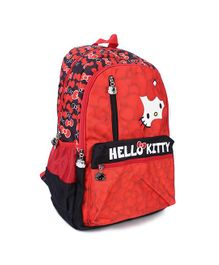 Hello Kitty School Bag Red - 19 inches
