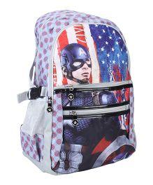 Marvel Captain America School Bag - 19 inches