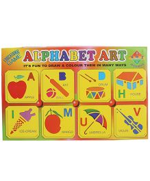 Fair Ind Alphabet Art Kit