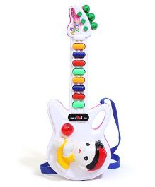 Prasid Mini Guitar - White