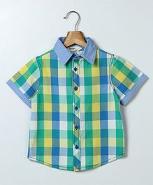 Beebay Half Sleeves Check Shirt - Multi Color