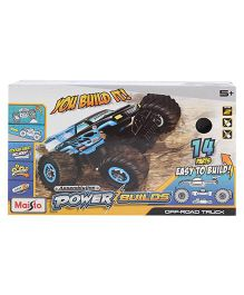 Maisto Power Builds Vehicle Toy - 14 Pieces