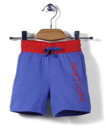 UCB Plain Shorts - Blue