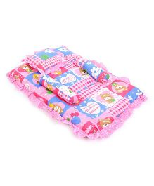 Little Compact Baby Bed Set - Pink