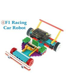Madsbag 4 In 1 F1 Racing Car Robot Building Blocks