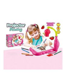 Madsbag Projector Painting - Pink