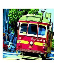 Madsbag DIY Figure Oil Painting - Tram