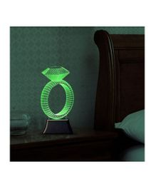 Madsbag Table Night Lamp - Ring Shape