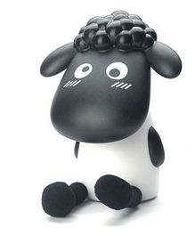 Madsbag LED Table Night Lamp Sheep - Black