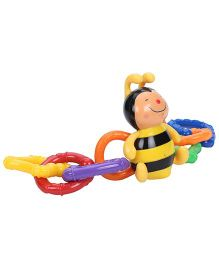 K's Kids Clever Bee Link - Black And Yellow