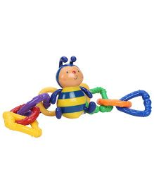 K's Kids Clever Bee Link - Blue And Yellow
