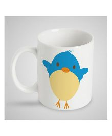 Stybuzz Kids Ceramic Mug Birdie Print Multicolor - 300 ml