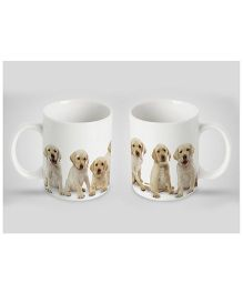 Stybuzz Kids Ceramic Mug Puppy Print Multicolor 300 ml - Single Piece