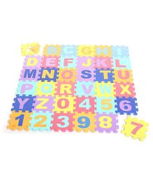 Hamleys Eva Small Puzzle Mat - Alphabets And Numbers