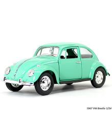 Road Signature Die Cast VW Beetle 1967- Green