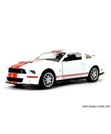Road Signature Die Cast Shelby Car GT 500 2007 - White